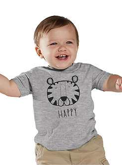 Happy Tiger - Toddler T-Shirt (Wholesale)