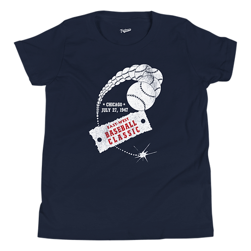 1947 East West Baseball Classic - Kids T-Shirt