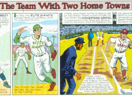 #Spotlight - 2019 World Series returns to DC - A Look Back - The Washington Homestead Grays