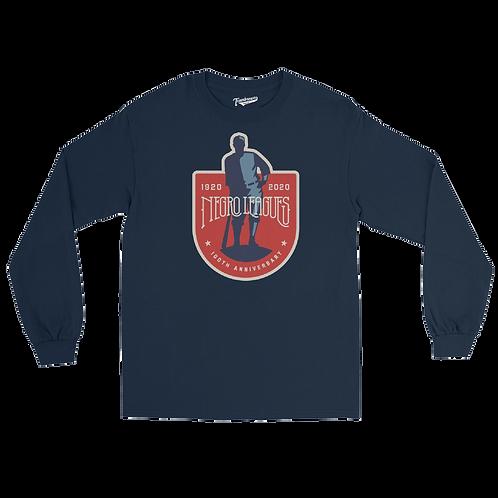 NLBM Centennial - Unisex Long Sleeve Crew T-Shirt