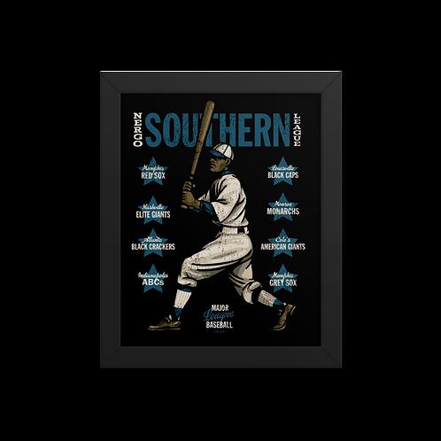 Negro Southern League - Giclée-Print Framed