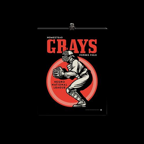 NNL Homestead Grays by Gary Cieradkowski - Matte Paper Giclée