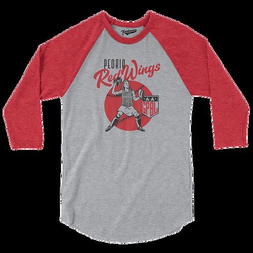 Diamond - Peoria Redwings - Baseball Shirt