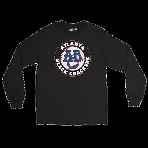 Atlanta Black Crackers Unisex Long Sleeve Crew T-Shirt