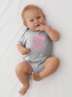 Little Sister - Bow - Infant Onesie (Wholesale)