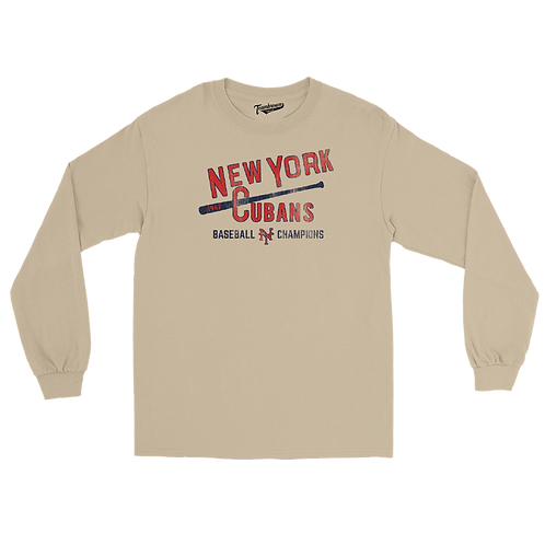 1947 Champions - New York Cubans - Unisex Long Sleeve Crew T-Shirt
