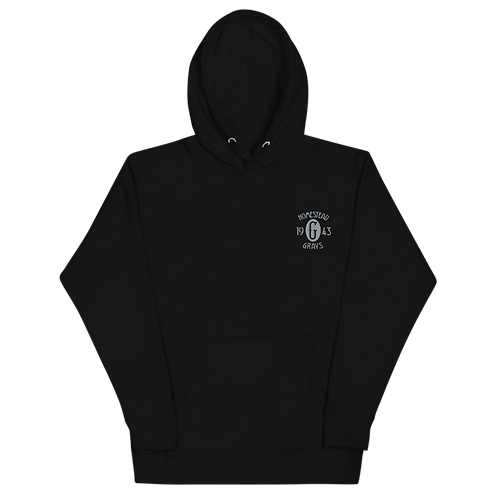 1943 Champions - Homestead Grays - Griffith Park - Embroidered Premium Hoodie