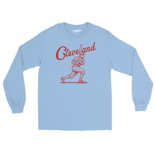 Cleveland (City Series) - Unisex Long Sleeve Crew T-Shirt