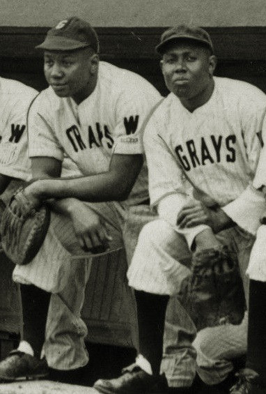 "The ""Thunder Twins"" Josh Gibson (The Black Babe Ruth) and Buck Leonard (The Black Lou Gehrig)"