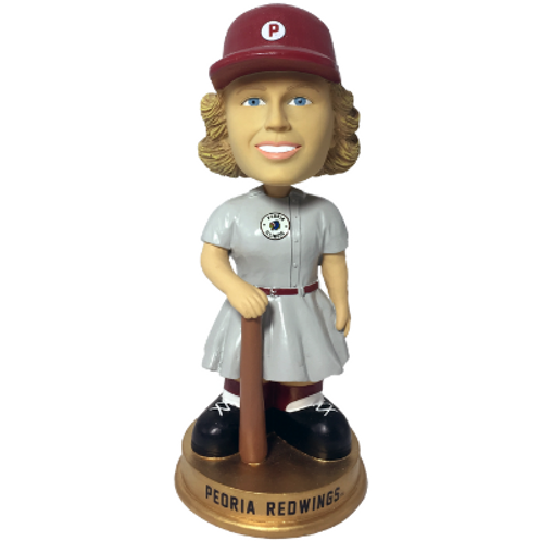 Peoria Redwings AAGPBL Vintage Bobbleheads