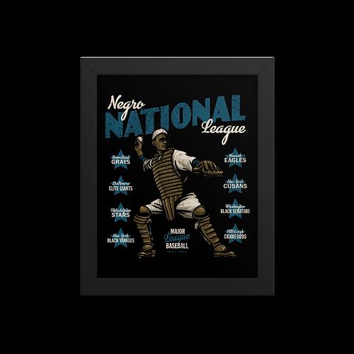 Negro National League II - Giclée-Print Framed