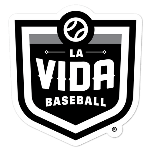 La Vida Baseball Stickers 3x3