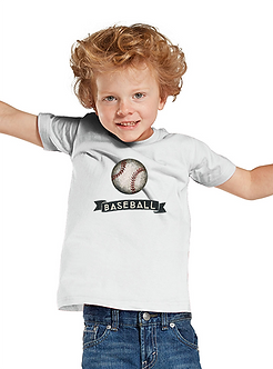 Baseball - Toddler T-Shirt (Wholesale)
