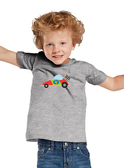 Race Car 4th Birthday - Toddler T-Shirt