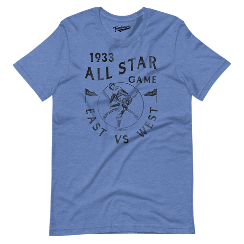 1933 East vs West All Star Game - Unisex T-Shirt