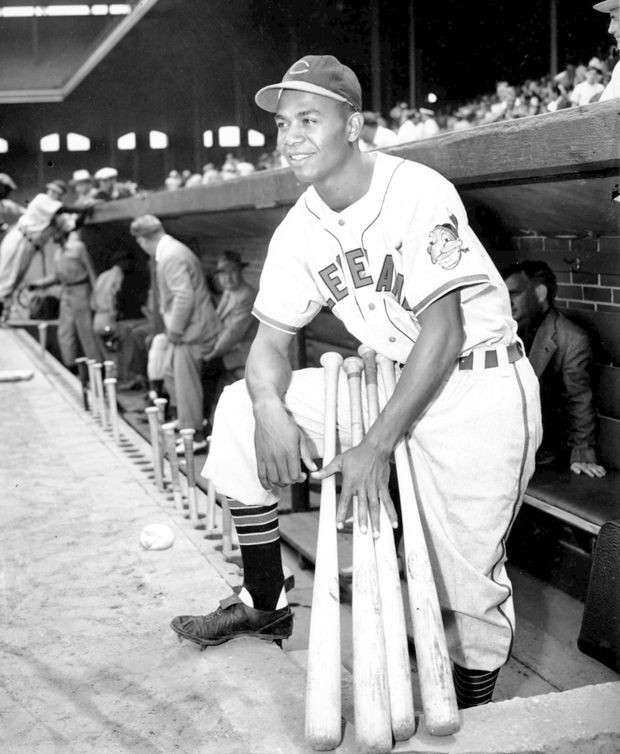 Larry Doby – Cleveland Indians