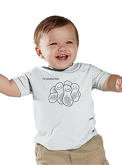 I'm Peanut Free - Toddler T-Shirt