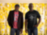 mockup-of-two-brothers-wearing-t-shirts-