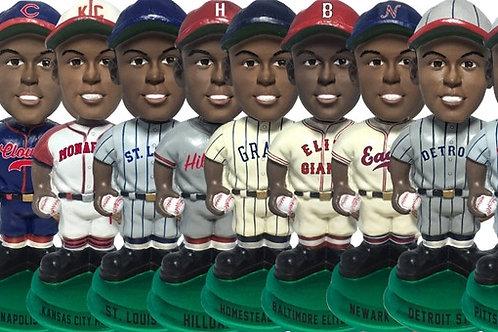 Full Set - Negro Leagues Vintage Bobbleheads - Green Base