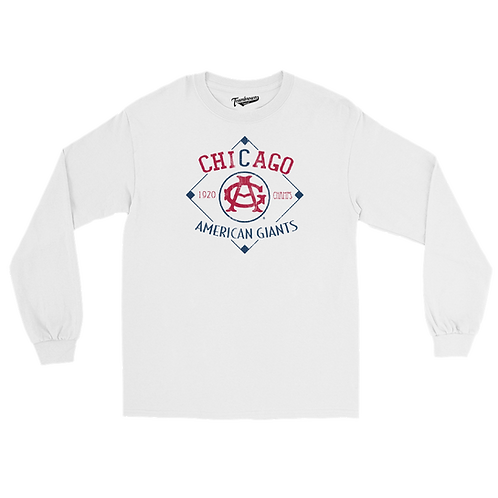 1920 Champions - Chicago American Giants - Unisex Long Sleeve Crew T-Shirt