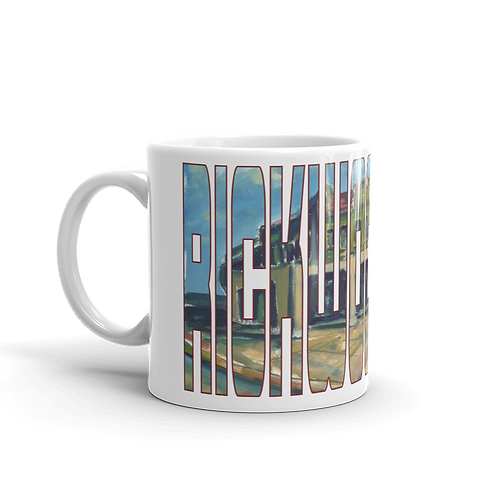 Rickwood Field by Andy Brown - Logo 11oz Mug