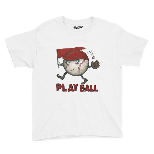 Play Ball - Kids T-Shirt (Various Colors)