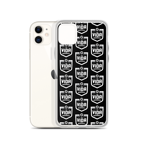La Vida Baseball -Wallpaper Logo iPhone Case