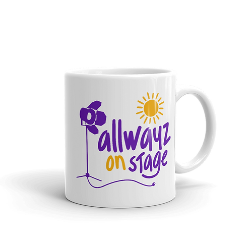 ALLWAYZ ON STAGE - Logo - 11oz Mug