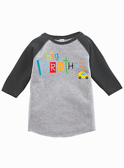 Big Brother - Toddler Vintage Fine Jersey Baseball T-Shirt (Wholesale)