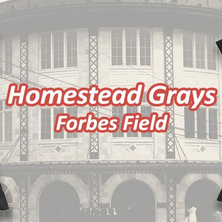 #Spotlight – NNL Collection - Forbes Field / Homestead Grays
