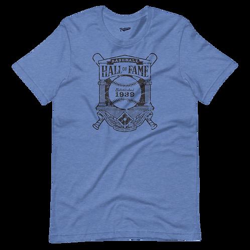 Baseball Hall of Fame - Crest Logo - Unisex T-Shirt