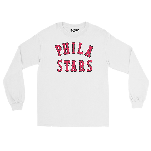 Philadelphia Stars Uniform - Unisex Long Sleeve Crew T-Shirt