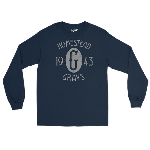 1943 Champions - Homestead Grays / Griffith Stadium - Unisex Long Sleeve T-Shirt