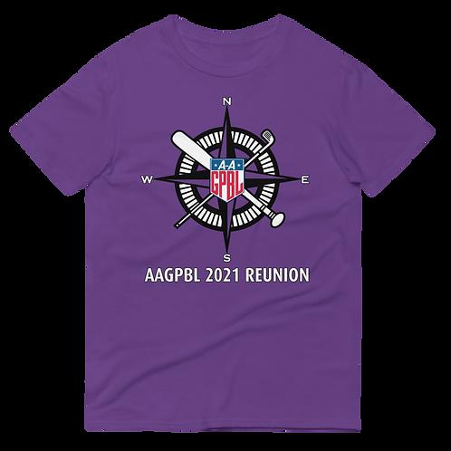 AAGPBL 2021 Reunion - Purple Unisex Shirt (Limited Edition)