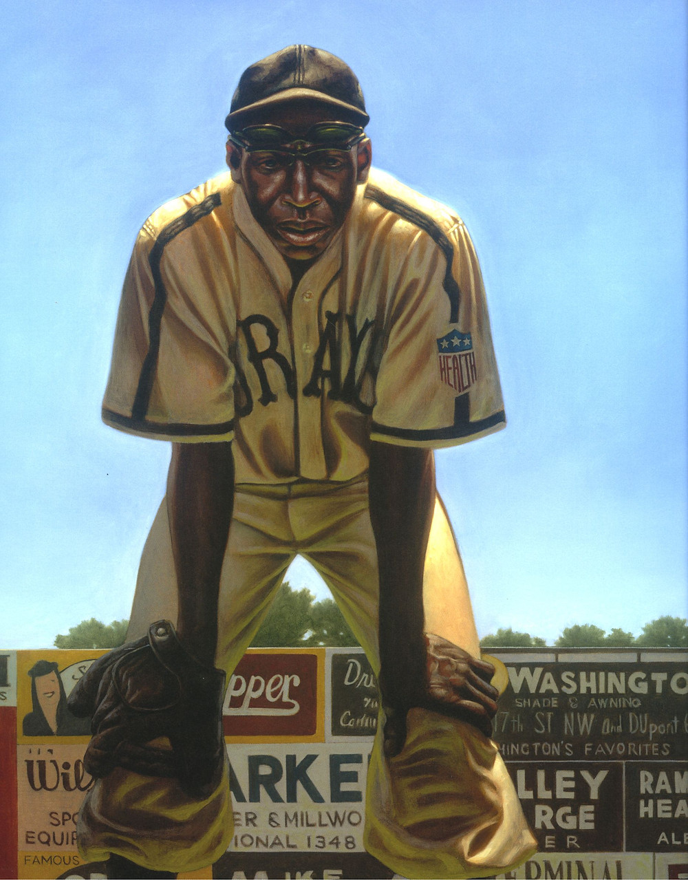 Cool Papa Bell by Kadir Nelson