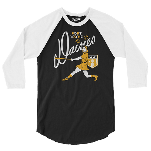 Diamond - Fort Wayne Daisies - Baseball Shirt