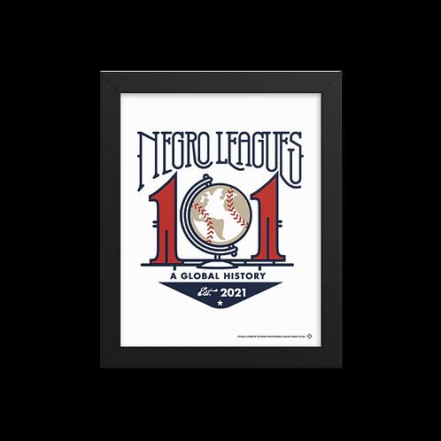NL 101 - Giclée-Print Framed