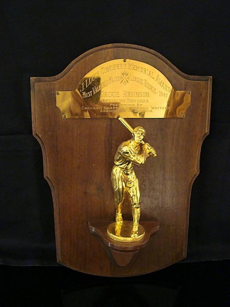 Jackie Robinson's Rookie of the Year Award