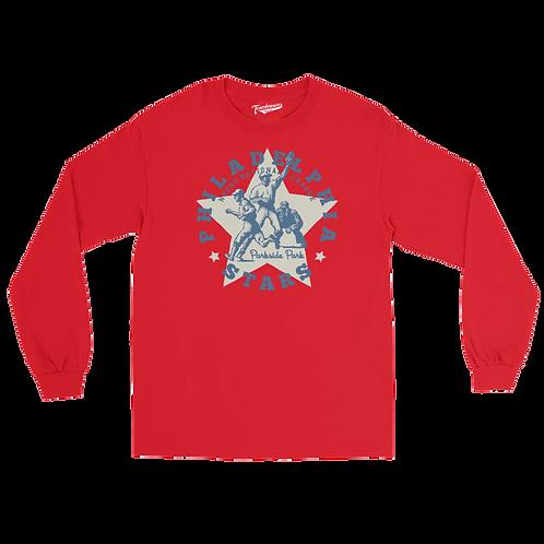 NNL Philadelphia Stars - Unisex Long Sleeve Crew T-Shirt