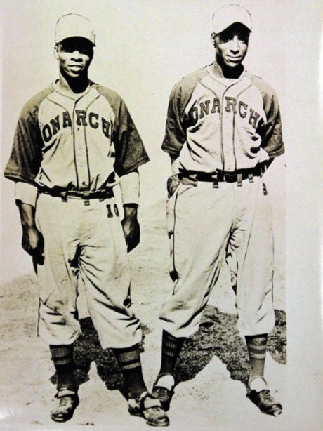 Willard Brown and Ted Strong