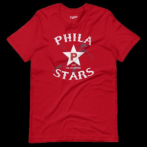 1934 Champions - Philadelphia Stars - Unisex T-Shirt (Various Colors)
