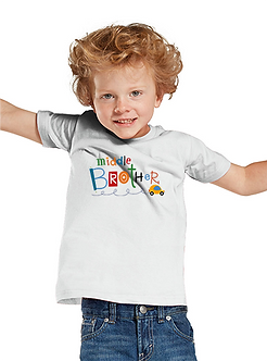 Middle Brother - Toddler T-Shirt (Wholesale)