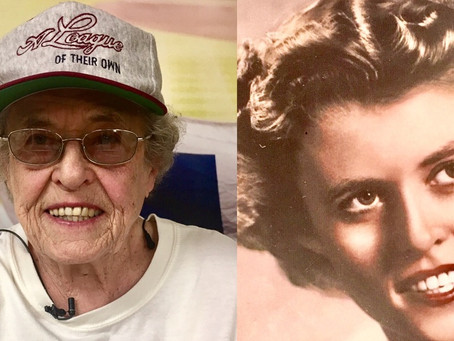 #Spotlight - AAGPBL's stars on and off the field - Jochum & Winter