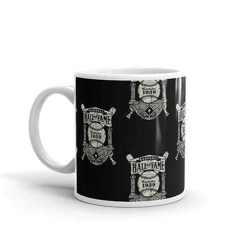 Baseball Hall of Fame - Crest Wallpaper Logo 11oz Mug