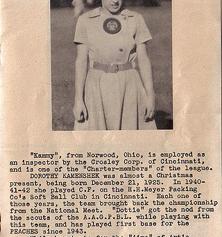 #Spotlight - Dottie Kamenshek - AAGPBL Superstar