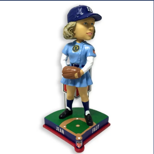 Jean Faut - South Bend Blue Sox - AAGPBL All-Star Bobblehead