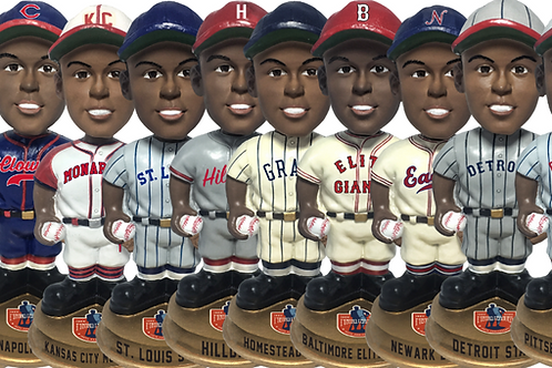 Full Set - Negro Leagues Vintage Bobbleheads - Gold Base (PRESALE)