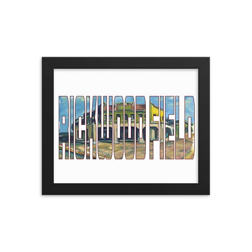 Rickwood Field by Andy Brown - Giclée-Print Framed