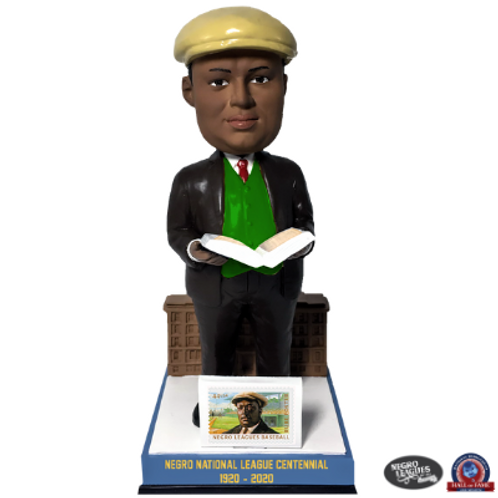 Rube Foster with Postage Stamp Bobblehead
