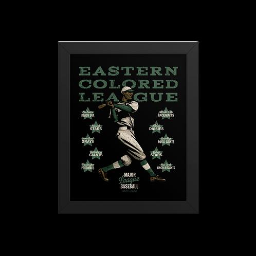 Eastern Colored League - Giclée-Print Framed